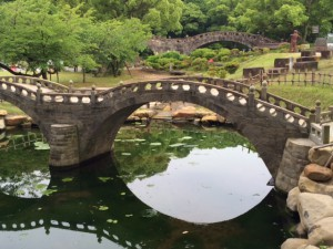 ミニ眼鏡橋+眼鏡橋