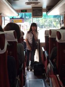 MILKさんバス中